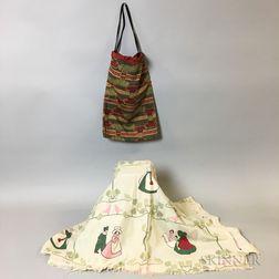 Two Art Nouveau Textiles