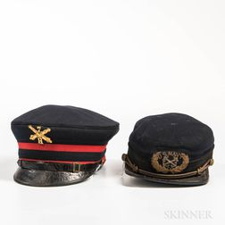 Two Military Caps