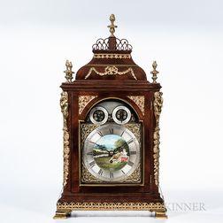 Benjamin Ward Musical Bracket Clock