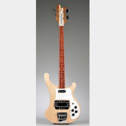 American Electric Bass Guitar, Rickenbacker Incorporated, Santa Ana, 1999,    Model 4001S,