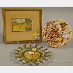 Three Collectible and Decorative Items