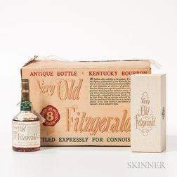 Very Old Fitzgerald 8 Years Old 1950, 12 half pint bottles (oc)