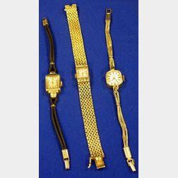 Three Women's Watches