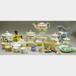 Group of Mostly English Ceramic Items