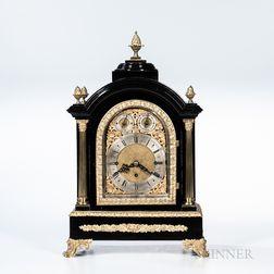 Ebonized Bracket Clock