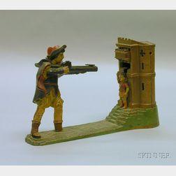 "Stevens ""William Tell"" Cast Iron Mechanical Bank"