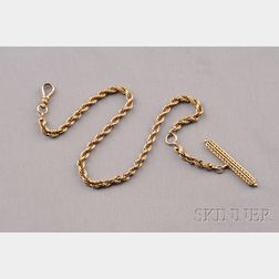 Antique 14kt Gold Watch Chain