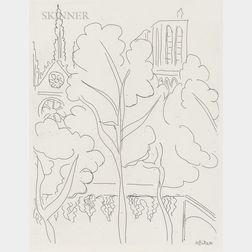 Henri Matisse (French, 1869-1954)      La Cité - Notre-Dame