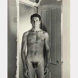 George Platt Lynes (American, 1907-1955)      Two Portraits of Jack Fontan (Nude and Clothed)