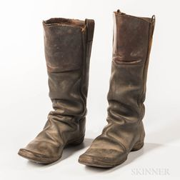 Pair of Civil War-era Boots
