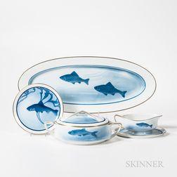 Rosenthal Porcelain Fish Service