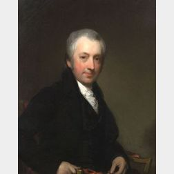 Attributed to Gilbert Stuart (England and America 1755-1828)  Portrait of Judge Thomas Dawes, Jr. (1758-1825)