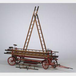Kenton Hardware Co. Cast-Iron Triple Team Hook and Ladder