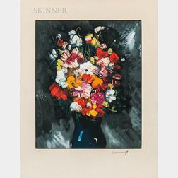 After Maurice de Vlaminck (French, 1876-1958)      Vase de Fleurs