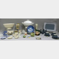 Lot of Miscellaneous Pottery, Porcelain, Decorative, and Collectible Items