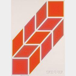 Richard Anuszkiewicz (American, b. 1930)      Untitled