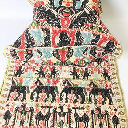 Sardinian Embroidered Panel