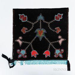 Prairie Beaded Cloth Breechclout