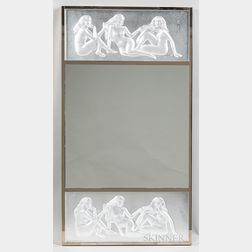 Lalique Les Causeuses Wall Mirror