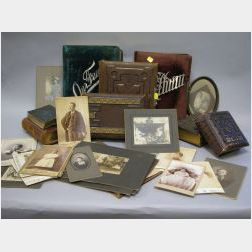 Group of Eight Assorted 19th and Early 20th Century Photo Albums