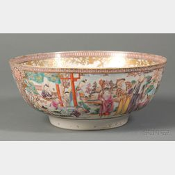 Mandarin Palette Porcelain Bowl