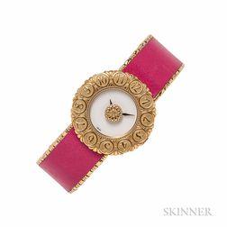 "18kt Gold ""Eliochron"" Wristwatch, Gianmaria Buccellati"