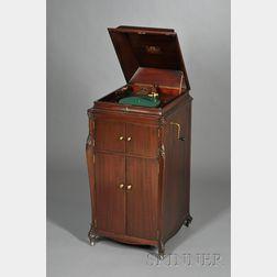 Mahogany Victrola by the Victor Talking Machine Company