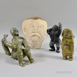 Four Contemporary Inuit Carvings