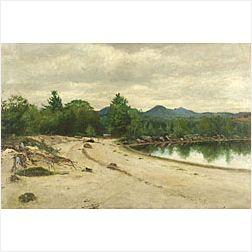 George Albert Frost (American, b. 1843)  ...Lovell, Maine