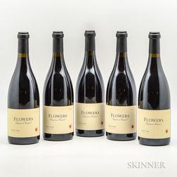 Flowers Sangiacomo Vineyard Pinot Noir 2000, 5 bottles