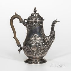 George IV Sterling Silver Coffeepot