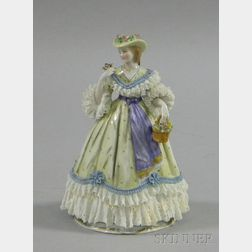 Godey German Porcelain Fashion Ceramic Figure