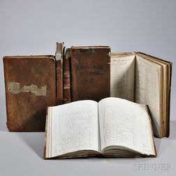 Business Ledgers c. 1787-1859.