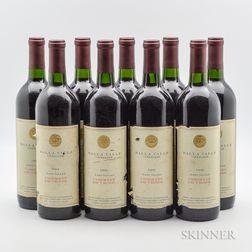 Dalla Valle Cabernet Sauvignon 1992, 9 bottles
