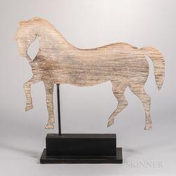 Pine Horse Weathervane
