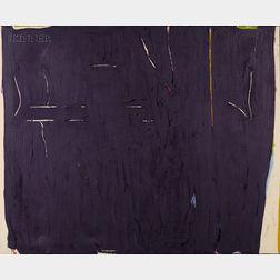 Jack Roth (American, 1927-2004)      La Ligne Tremblante 13
