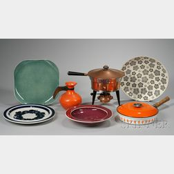 Eleven Kitchenware Items