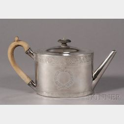 Neoclassical Silver Teapot