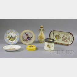 Seven Assorted Wedgwood Decorated Ceramic Items