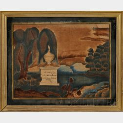 Framed Painted Family Memorial