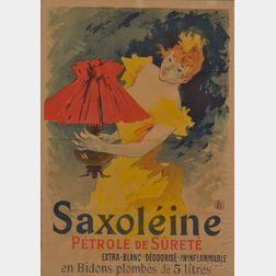 Jules Cheret (French, 1836-1932)      Saxoleine