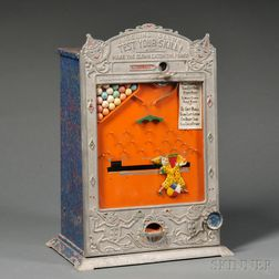 """Juggling Clown Test Your Skill"" Coin-operated Penny Arcade Game"