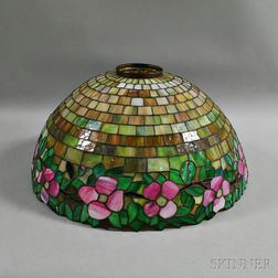 Arts and Crafts-style Slag Glass Shade