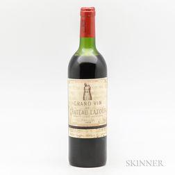 Chateau Latour 1976, 1 bottle