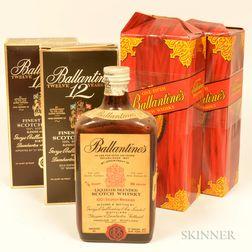 Mixed Ballantines, 5 4/5 quart bottles