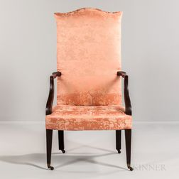 Upholstered Lolling Chair