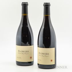 Flowers Van der Kamp Vineyard Pinot Noir 1998, 2 bottles