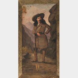 Charles C. Redmond (American, 1850-1889)      Buffalo Bill