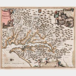 Virginia, Two Engraved Maps.