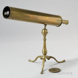Navarre Gregorian Reflecting Library Telescope